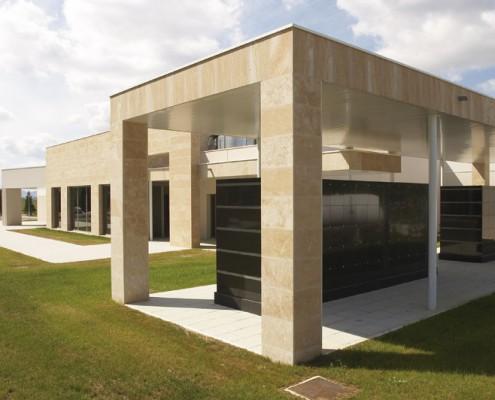 Columbario Funeraria Virgen Blanca. Vitoria-Gasteiz. Álava. Araba. Servicios funerarios..